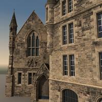 manor 3D models