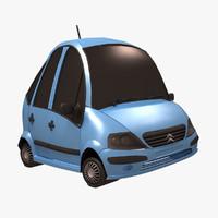 Citroen C3 3D models