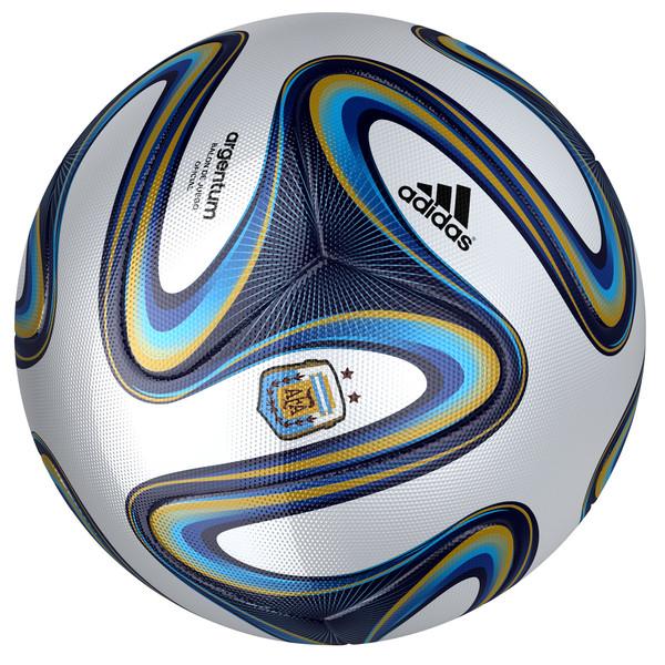 Adidas Argentum 2014 Ball 3D Models