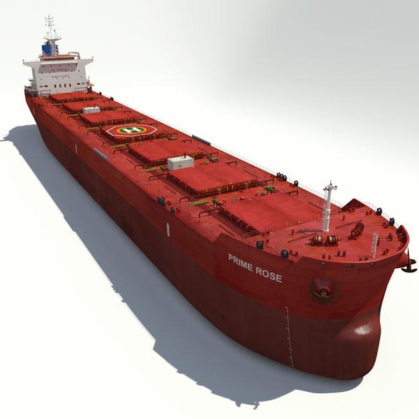 Ship Bulk Carrier 3D Models