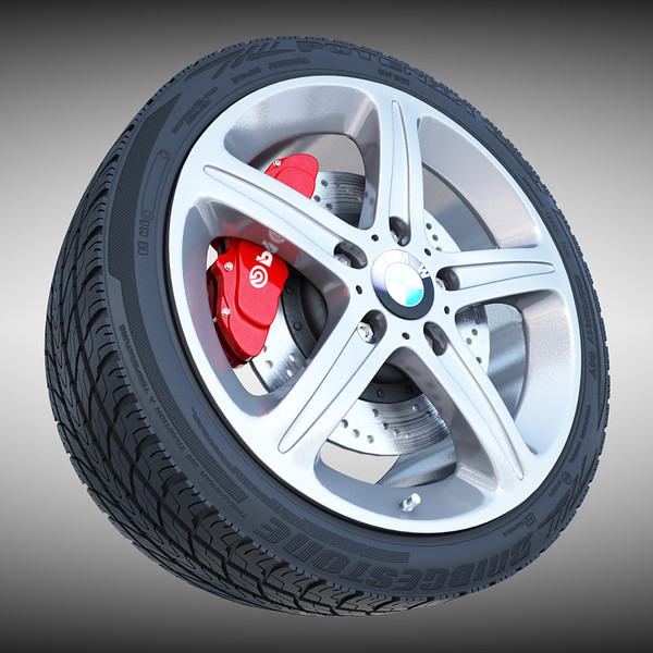 BMW Wheel 3D Models