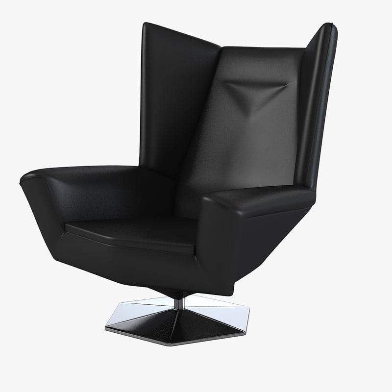 Prisma chair voitto haapalainen 3d max - Deco lounge oud en modern ...