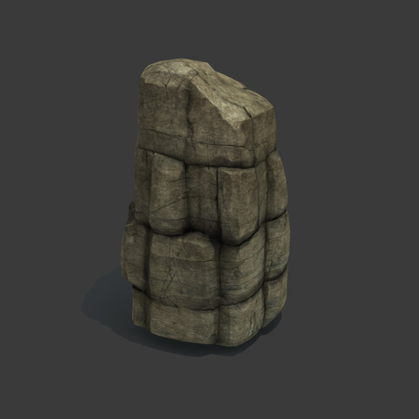 Rock Formation 3D Models