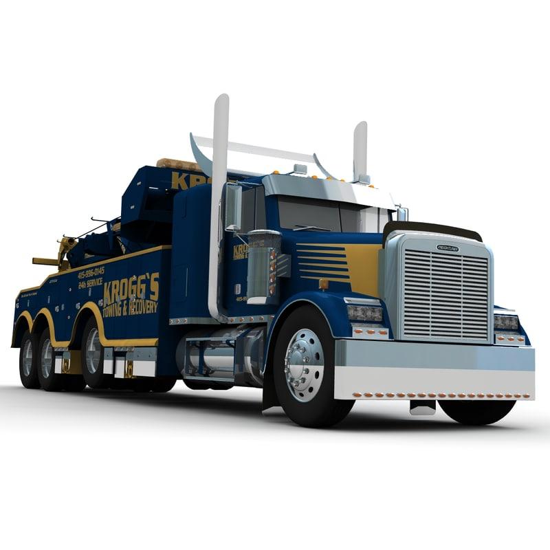 Freightliner FLD120SD Wrecker