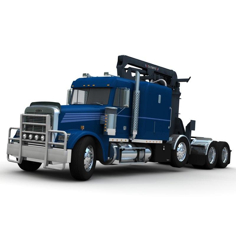 Freightliner FLD120SD Logger