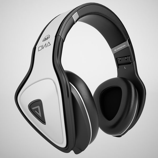 Monster Beats Dna Pro 02 3D Models