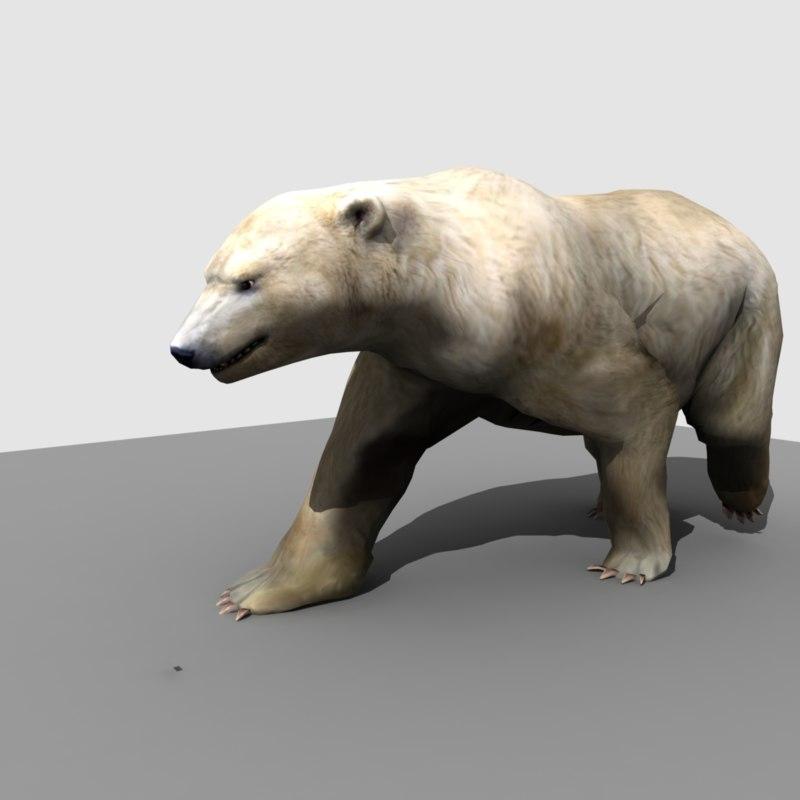 Polar Bear (RIGGED)