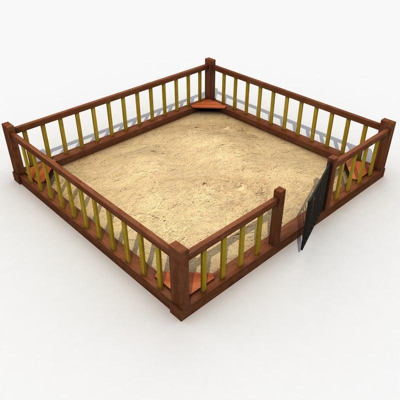 Sandbox Wood Wooden