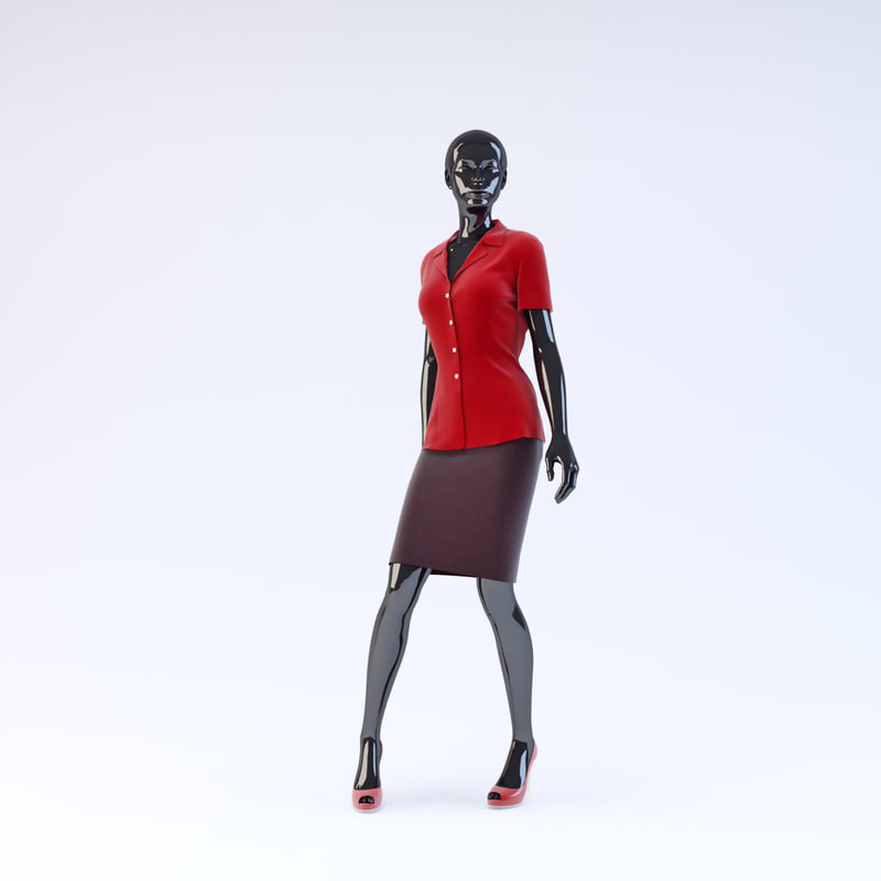 showroom mannequin 12