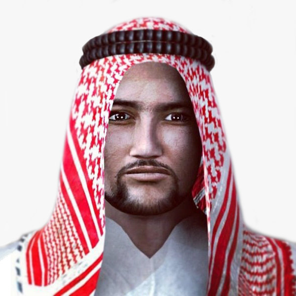 how to write sister in arabic 3d models