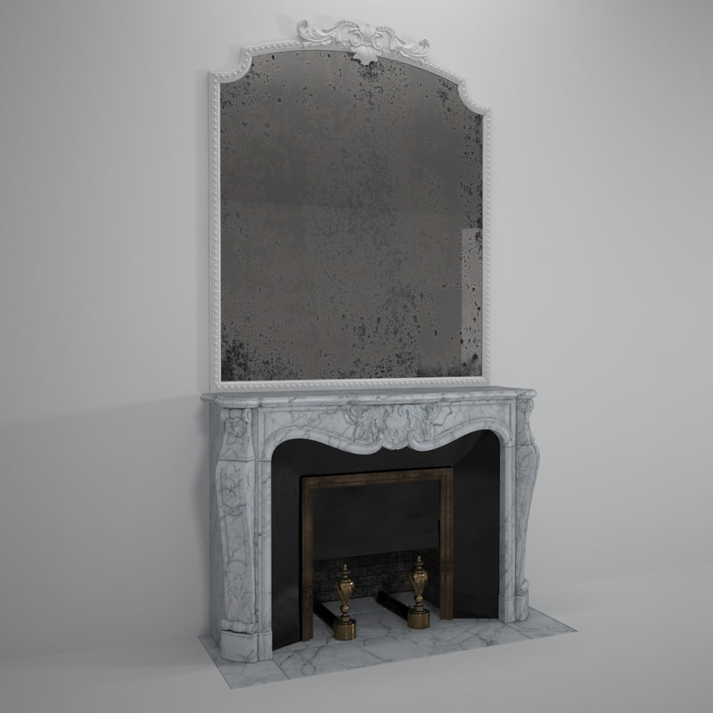 Pin French Marble Fireplaces On Pinterest