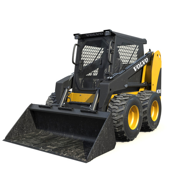 Skid-Steer Loader 3D Models