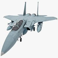 F-15 3D models