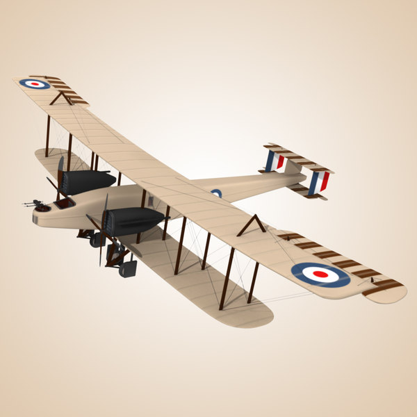 Handley Page 0/400 3D Models