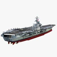 USS Carl Vinson CVN-70 3D models