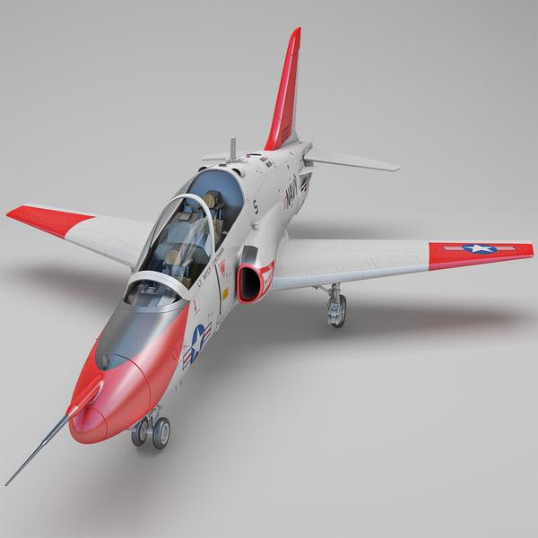 McDonnell Douglas T-45 Goshawk 3D Models
