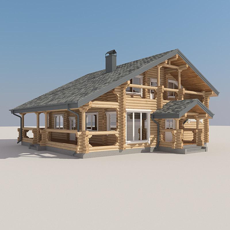 Log House LH LVD 048