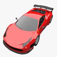 ferrari 458 spider 3D models