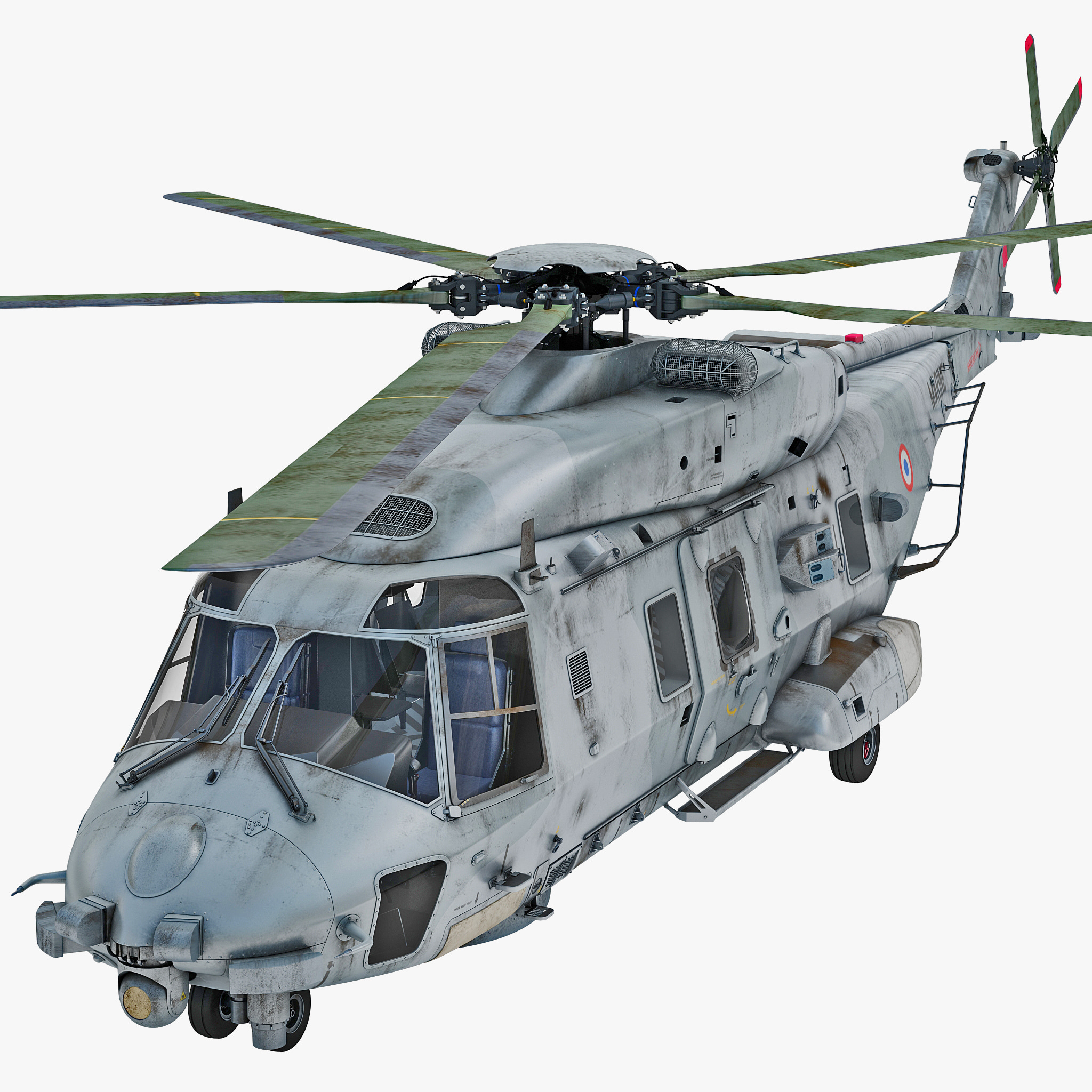 NHIndustries NH90 Military Helicopter 2 Rigged_1.jpg
