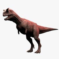 Carnotaurus 3D models