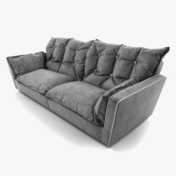 Baxter Sorrento Sofa 3D Models