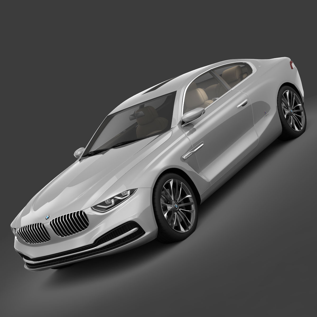 BMW Gran Lusso Coupe Concept 2013