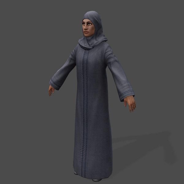 Real-Time Arabic Civilian Female-2