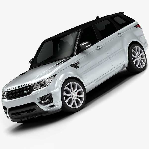 2014 Range Rover Sport (Low Interior) 3D Models