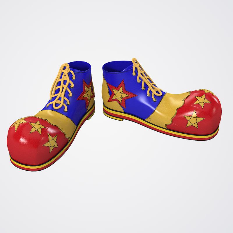 Clown Star Shoes