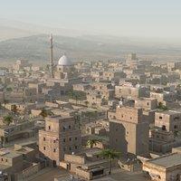 arab town 3D models