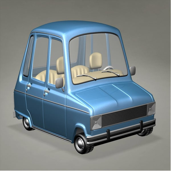 Renault 6 Toon DSR 3D Models