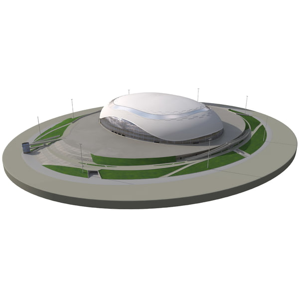 Bolshoy Ice Dome Sochi 3D Models