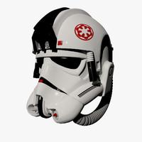 storm trooper helmet 3D models
