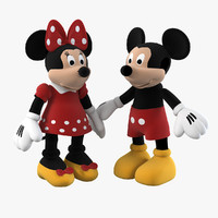 Mickey Mouse 3D models