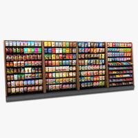 display cupboard 3D models