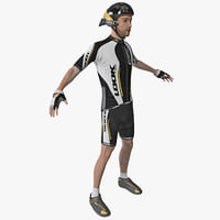 bicyclist 3D models
