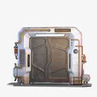 metal door 3D models