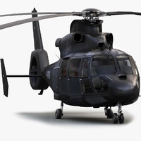 Eurocopter AS365 3D models