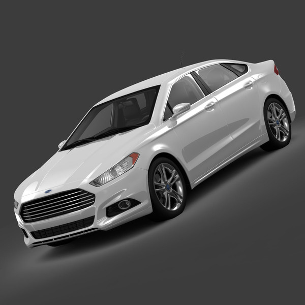 Ford Fusion Titanium AWD 2013 3D Models