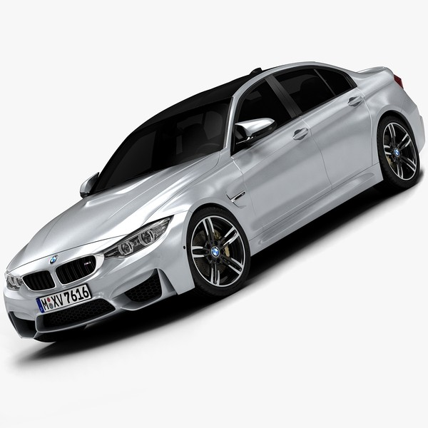 2015 BMW M3 (Low Interior) 3D Models