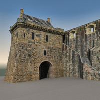 castle gate 3D models