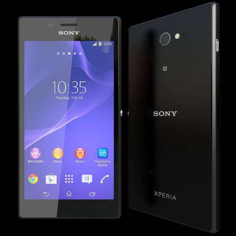 3d sony xperia m 2 model