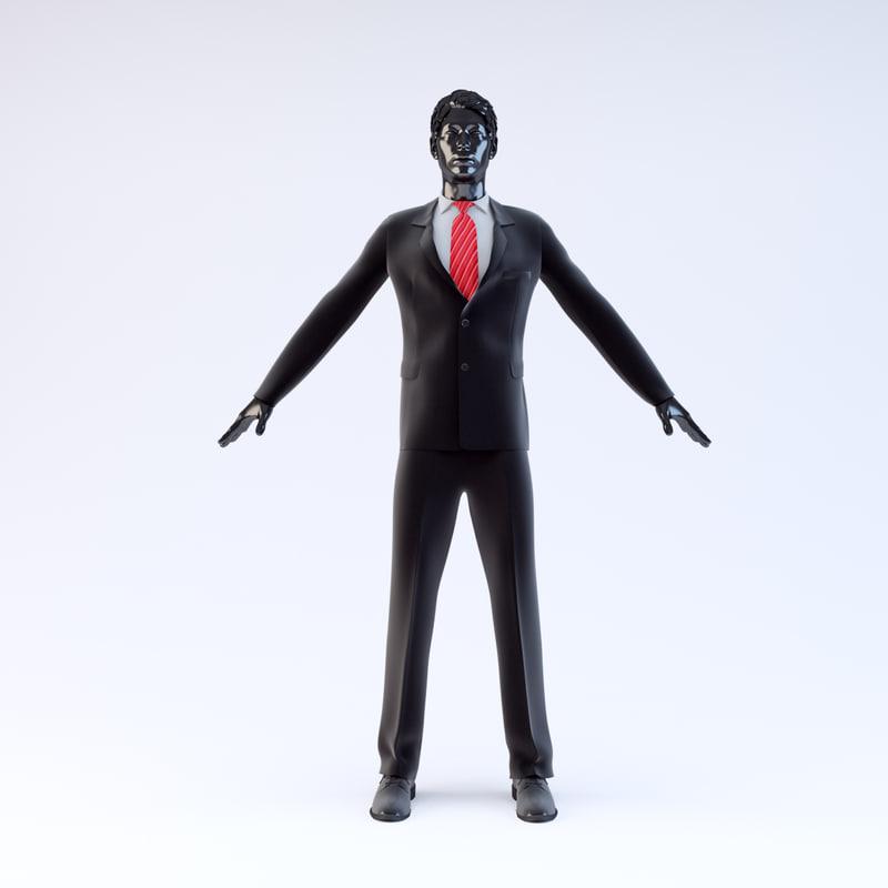 Showroom Mannequin Male 021