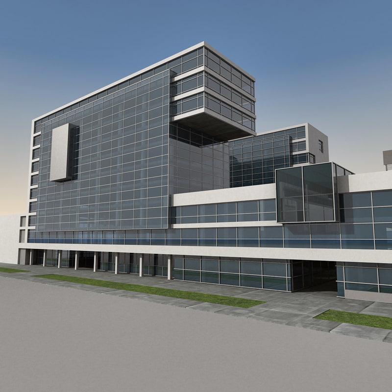 Modern Building 061