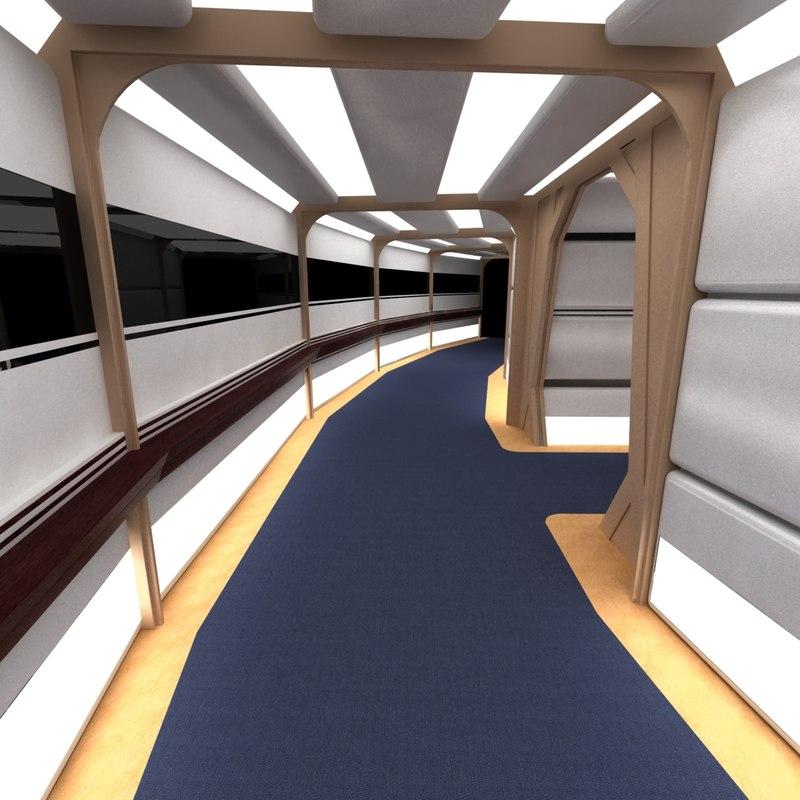 1000+ images about Spaceship Interior on Pinterest |Uss Enterprise Corridors