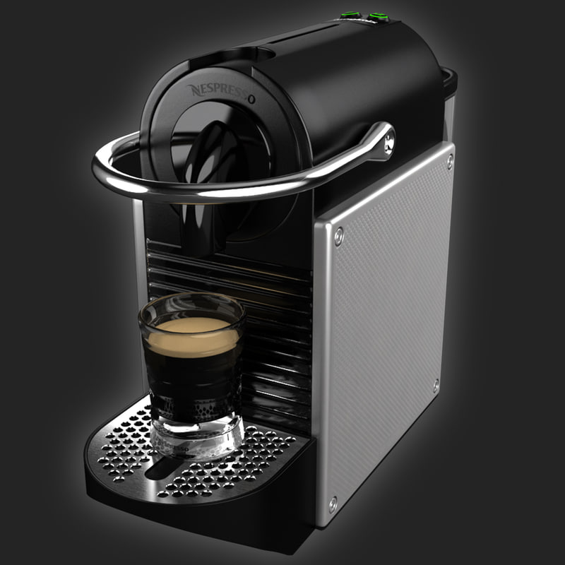 3d coffeemaker nespresso pixie magimix. Black Bedroom Furniture Sets. Home Design Ideas