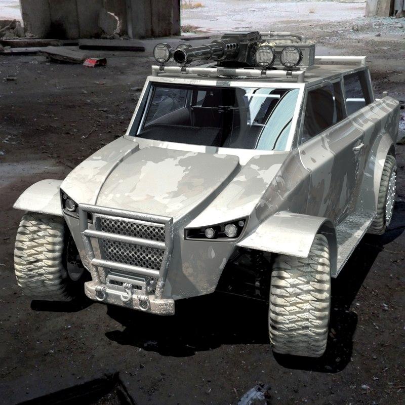 ACP729 Resistance Light Assault & Recon Vehicle