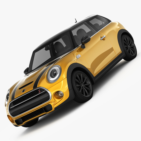 MINI Cooper S Hardtop 2015 3D Models