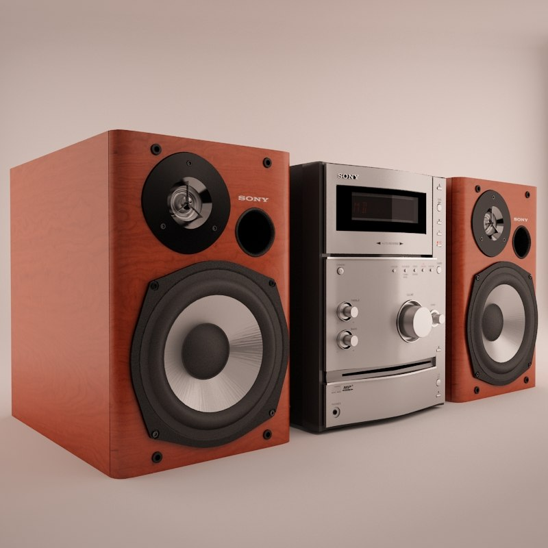 Stereo System Sony