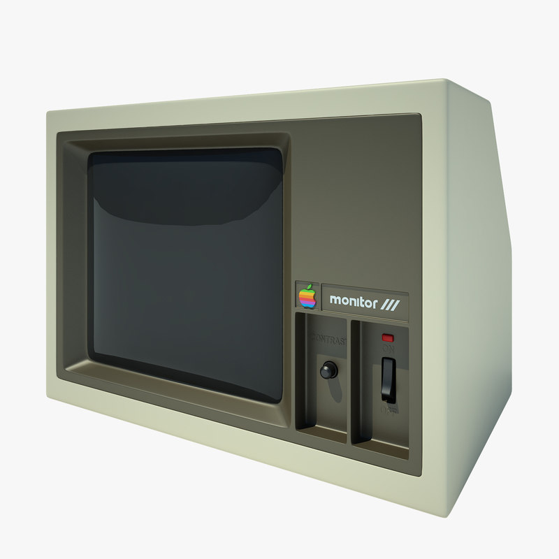 Monitor Apple 2 Computer_01.jpg